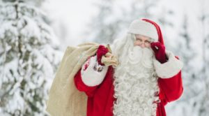 santa clause in Finland